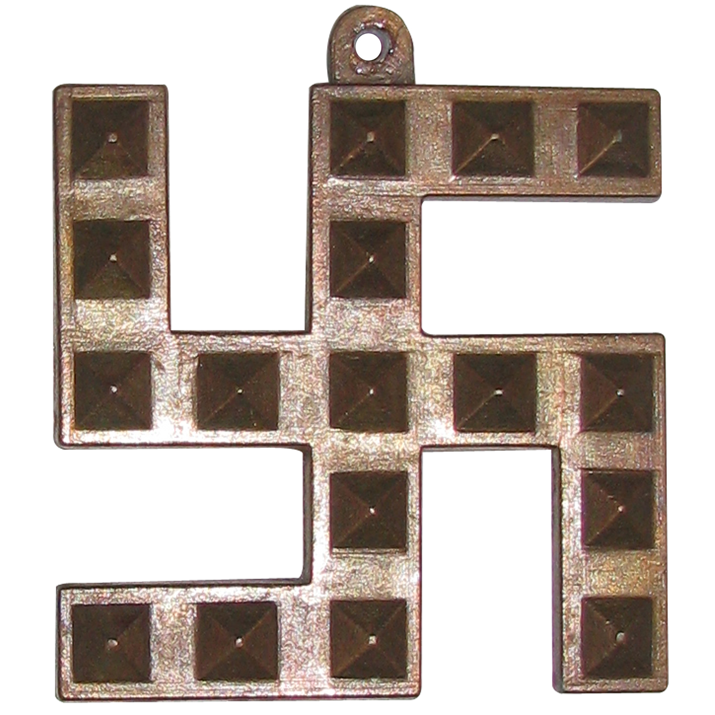 swastik pyramid wall door hanging swastika with 17 pyramids made
