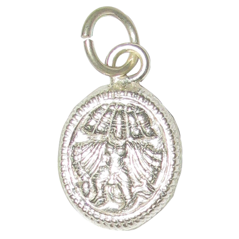 Silver small panchamukhi hanuman panchamukha anjaneya pendant a4712 silver small panchamukhi hanuman pendant aloadofball Choice Image