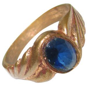 a4869-panchalogam-blue-makar-rashi-ring