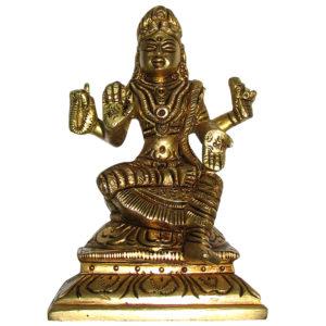 a4934-bala-tripura-sundari-brass-idol