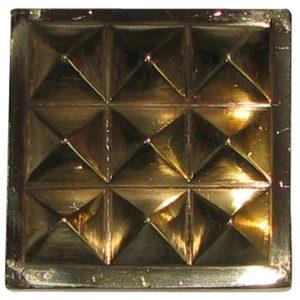 a0452-b-9-pyramid-chip-brass-1-inch-for-powerful-vastu-correction