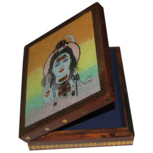 a4382-handicrafted-wooden-box-made-of-natuaral-gemstonee-painting-of-lord-shiva