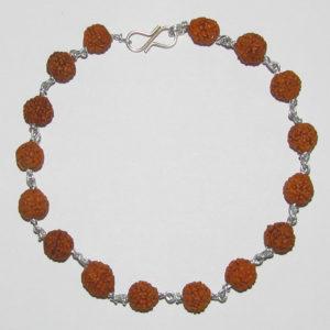 a4330-rudraksha-metal-chain-bracelet