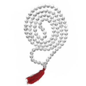 Padigam Malai Sphatik Mala Diamont Cut 54 Beads 17mm