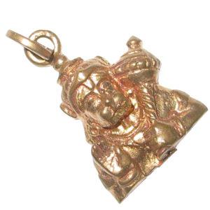 01 - Abhaya Anjaneya Hanuman Panchaloha Panchdathu Pendant