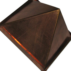 Copper Pyramid Cap